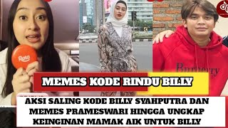 Billy Syahputra dan Memes Prameswari Terciduk Saling Kode Hingga Ungkap Tanggapan Mamanya u/ Billy