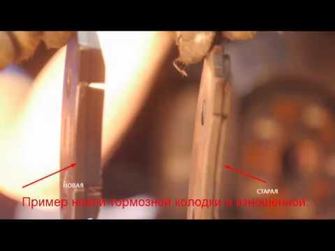 замена передних тормозных колодок на ниссан тиида