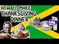 Thanksgiving Special (Fried Chicken, Ham, Potato Salad, MAC & Cheese| In Di Kitchen w/ BaddieTwinz