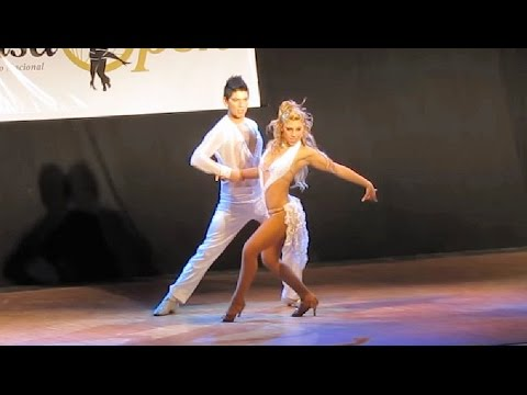 Argentina Salsa Open 2011 - Final - Karen Forcano & Ricardo Vega - 2do Puesto