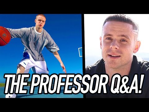 THE PROFESSOR Q&A SESSION - Talks Spider-Man Alter Ego, His AND1 Career, Ankle Breakers & MORE!