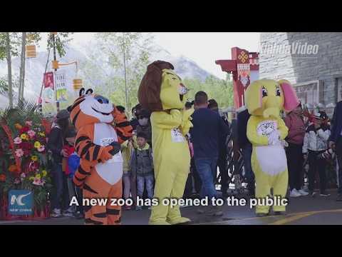 3,500 meters above sea level! Zoo opens in Tibet