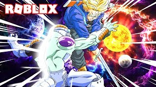 COMBATE CONTRA MECHA FREEZER EN EL ESPACIO!!! - ROBLOX DRAGON BALL Z FINAL STAND