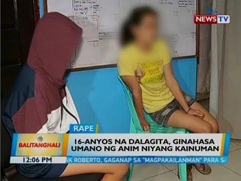 BT: 16-anyos na dalagita, ginahasa umano ng anim niyang kainuman