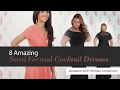 8 Amazing Semi Formal Cocktail Dresses Amazon 2017 Winter Collection