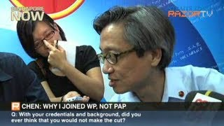 Chen: Why I joined WP, not PAP
