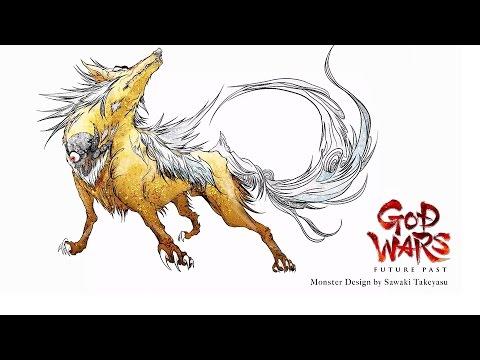 God Wars Future Past — Concept Illustration Trailer