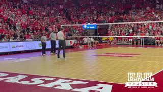 Nebraska Volleyball: Trev Alberts at Red-White Scrimmage