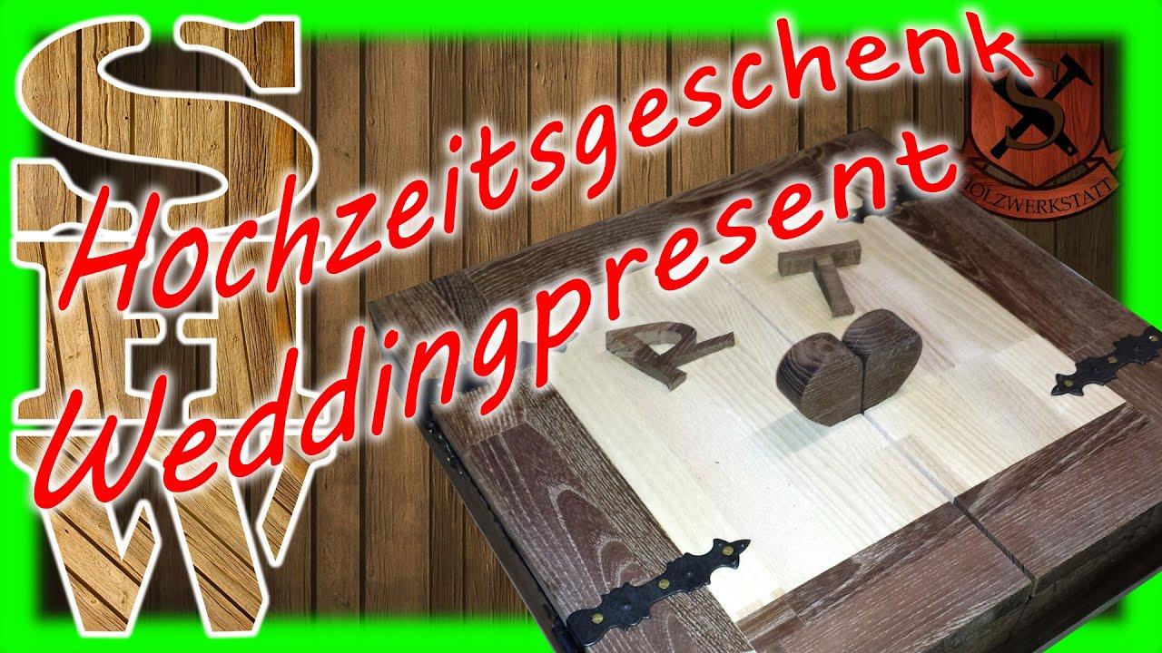 hochzeitsgeschenk love u box wedding gift youtube. Black Bedroom Furniture Sets. Home Design Ideas
