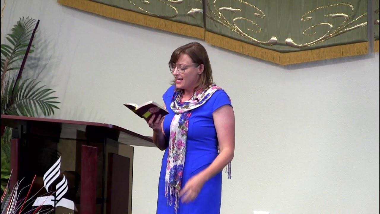 Sermon by Pastor Jennifer Ogden - 7/1/2017