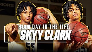 Skyy Clark is Here to CHANGE THE WORLD with Hoops 🌎 | SLAM Day in the Life