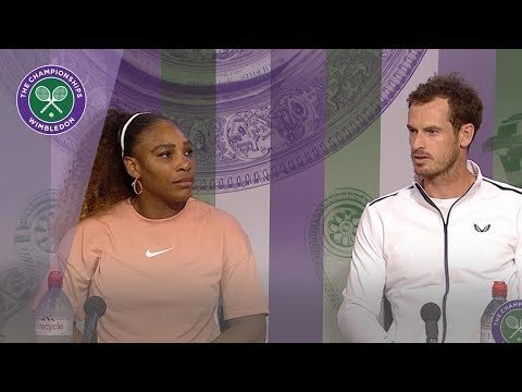 Andy Murray And Serena Williams Wimbledon 2019 First Round Press Conference
