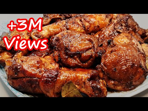 THE BEST CHICKEN ADOBONG TUYO RECIPE | REDUCED CHICKEN ADOBO RECIPE | SUPER EASY!!!