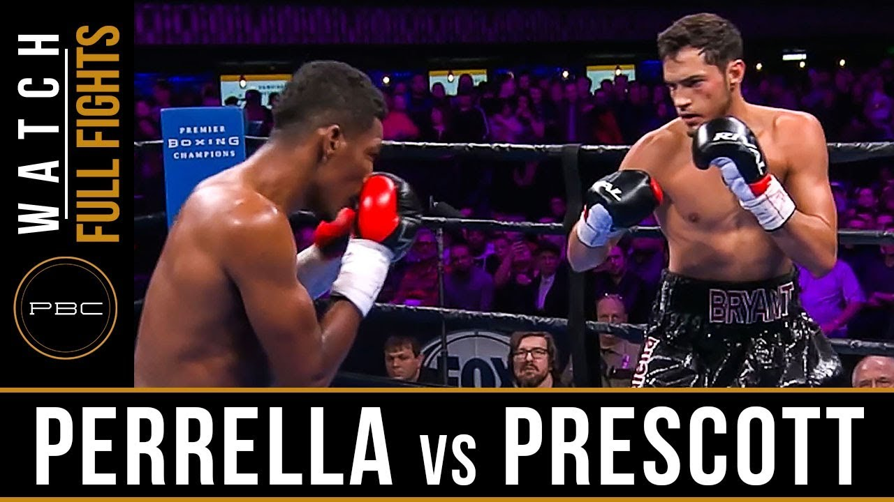 Perrella vs Prescott FULL FIGHT: February 23, 2019 - PBC on FS1