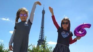 Γενέθλια της Άρτεμης στο Παρίσι 🎂🎉 ! Μέρος 1 ή birthday party for Artemi in Paris