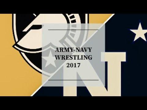 Army-Navy Wrestling 2017