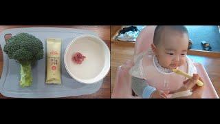 [초기이유식]소고기브로콜리미음/16배죽이유식