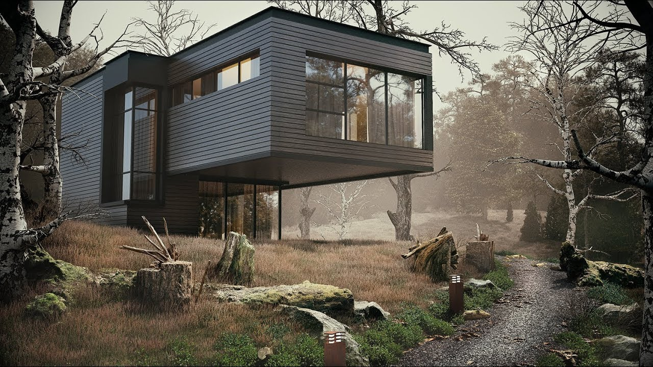 Making of forest house youtube - Make your house a home ...