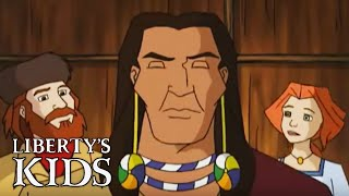 Liberty's Kids 127 - The New Frontier | History Cartoons for Children
