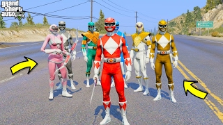 Video MIGHTY MORPHIN POWER RANGERS IN GTA 5 (GTA 5 Mods Funny Moments) download MP3, 3GP, MP4, WEBM, AVI, FLV Oktober 2018