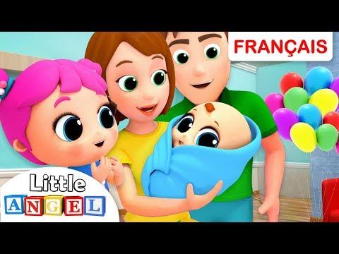 Un Nouveau Bébé Dans La Famille | Comptine Éducative et Dessins Animés pour les petits