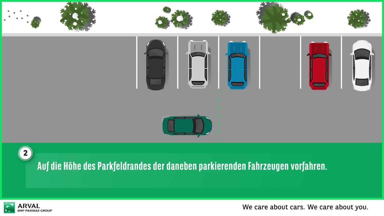 Richtig Einparken