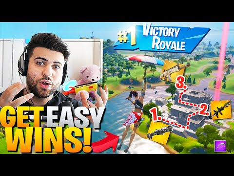 How To Get *EASY* High Elim WINS At The AGENCY! (Fortnite Ed