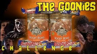 The Goonies Challenge | Baby Ruth & Rocky Road *snot Vomit*