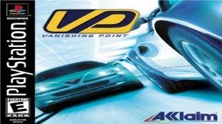 Vanishing Point PS1 Gameplay