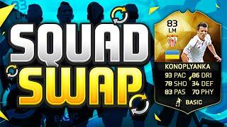 FIFA 16 SQUAD SWAP!!! INFORM KONOPLYANKA!!! The Cheap Inform Ronaldo Squad Builder