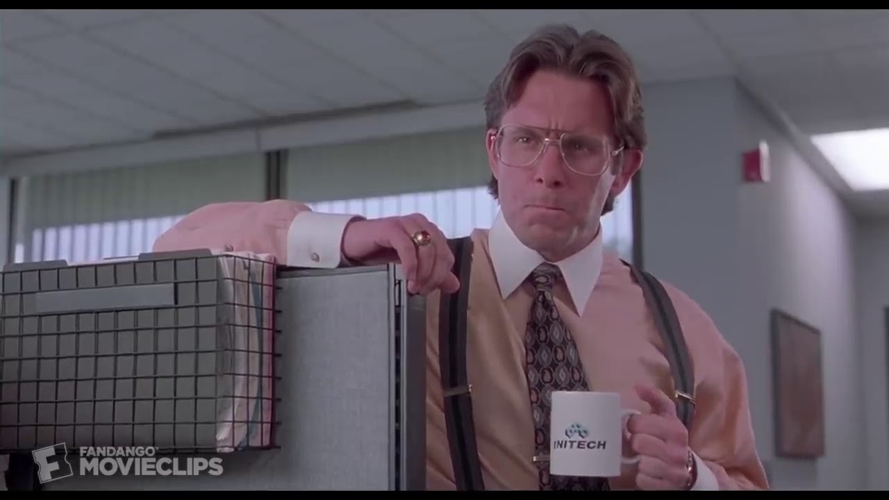 Office Space Loop For Zoom Virtual Background Youtube