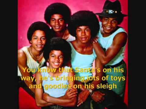 The Jackson 5 - The Christmas Song (with lyrics) - YouTube