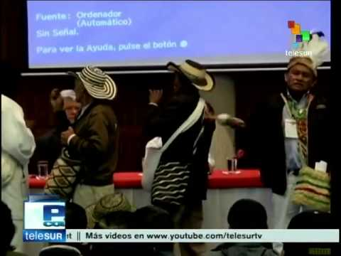 Colombia: Indigenous Peoples' Congress for Peace begins