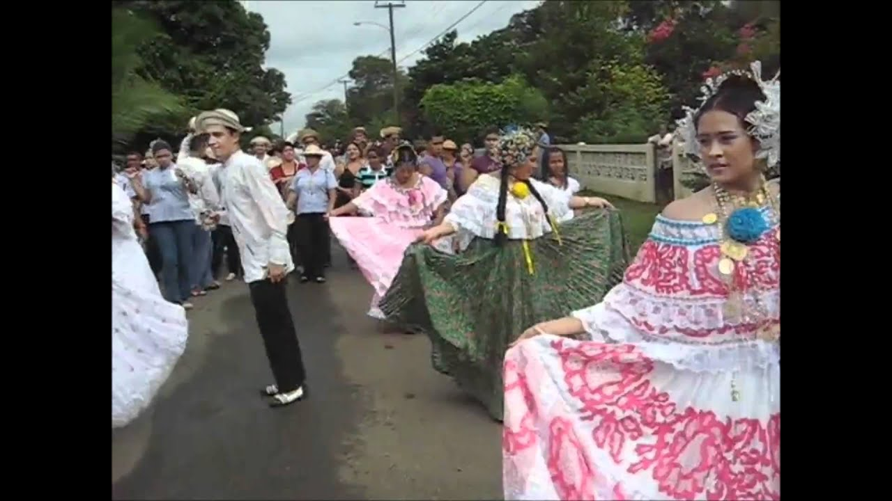 FESTIVAL FOLCLORICO LA MESA VERAGUAS ENTRE SALOMA