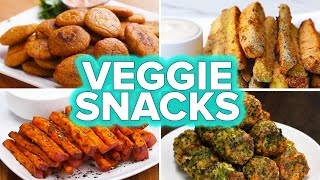 Veggie Snacks 4 Ways