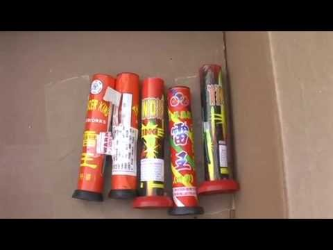Pyro Talk | Miscellaneous Fireworks: Single Shot Thunder King
