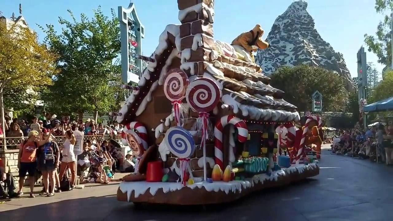 2016 a christmas fantasy parade disneyland disney holidays november 10 youtube. Black Bedroom Furniture Sets. Home Design Ideas