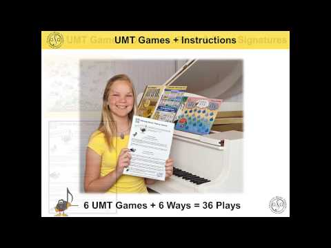 Music Theory Games - UMT Games Pack Basic