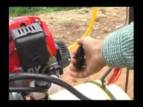 Farmer invents machine to spray pesticides