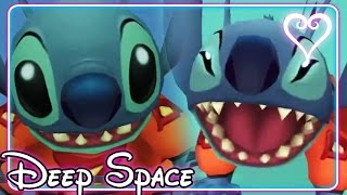 Kingdom Hearts All Cutscenes | Game Movie | Lilo and Stitch ~ Deep Space