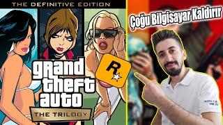 Birçok Bilgisayar GTA Trilogy Kaldıracak! GTA Trilogy Sistem Gereksinimleri Açıklandı (GTA V Gibi)