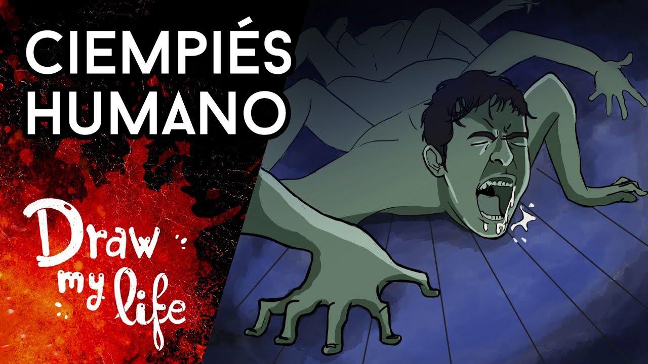 EL CIEMPIÉS HUMANO: EL EXPERIMENTO   Creepypasta   Draw My Life