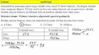 Zadanie 4. Wartości wprost proporcjonalne | MatFiz24.pl