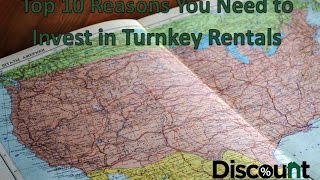 Top 10 Reasons to Invest in Turnkey Rental Property