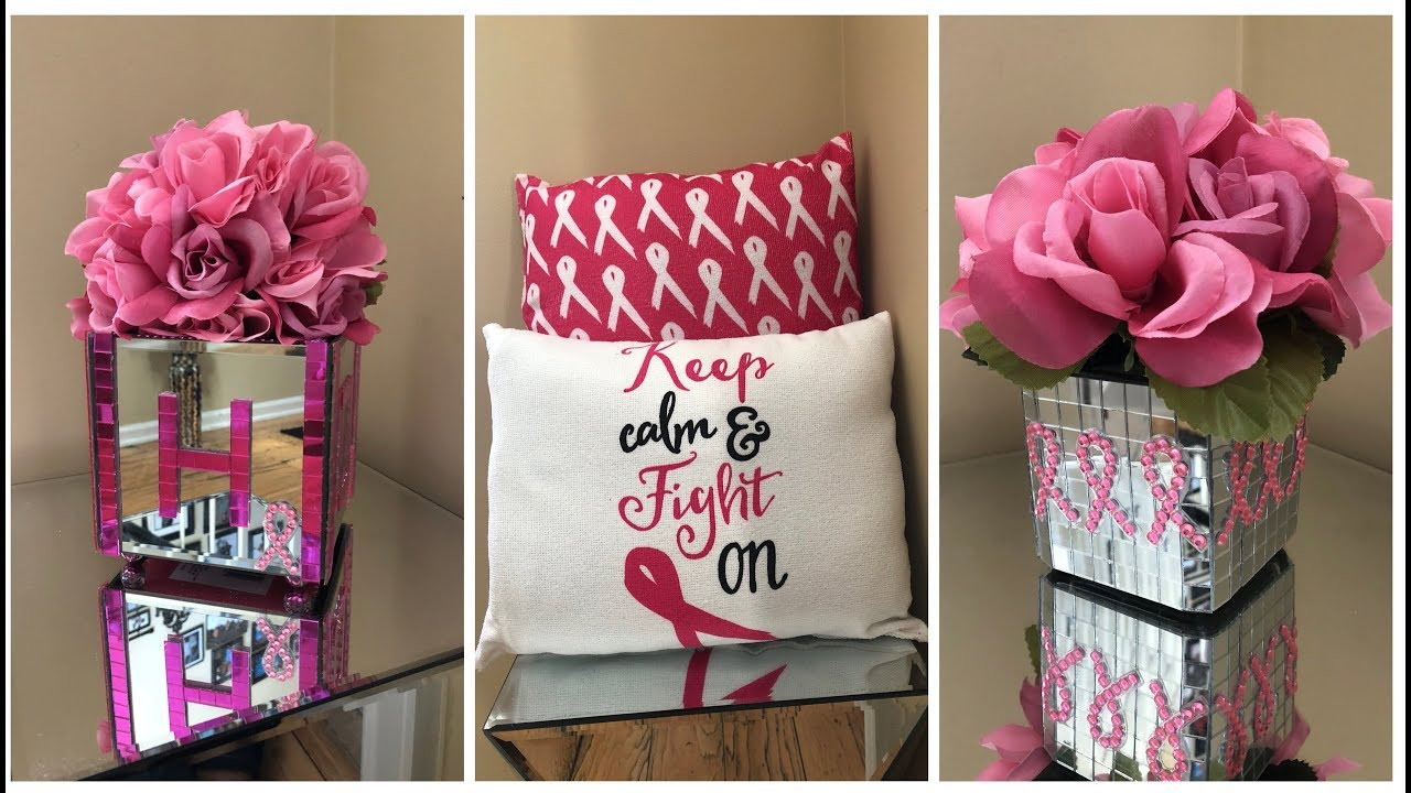 Dollar Tree Diy Supporting Breast Cancer Awareness Month