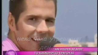 2011 Giorgos Tsalikis-An Isoun Agapi (bulgarian translation)