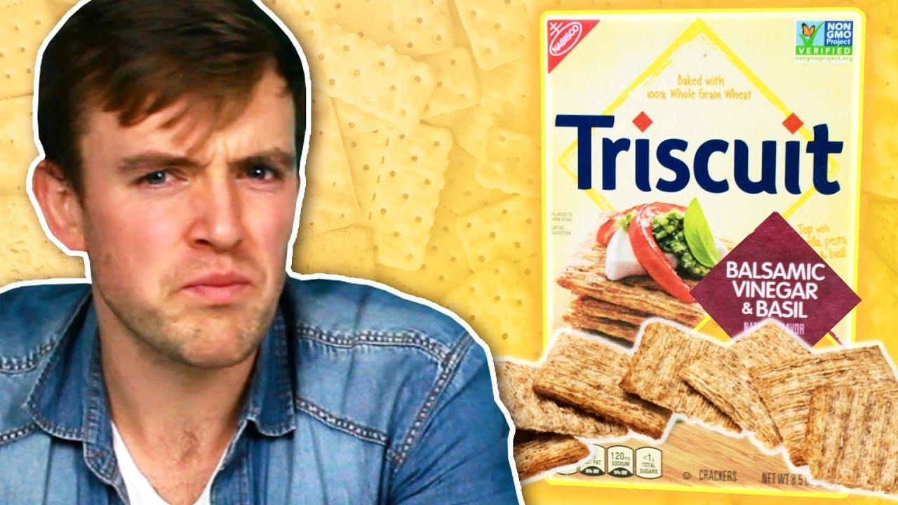 Irish People Try American Crackers