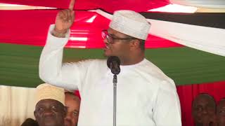Emotional Hassan Omar attacks Nasa leadership after his defection to Jubilee