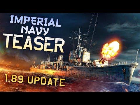 """""""Imperial Navy"""" Teaser / War Thunder 1.89"""