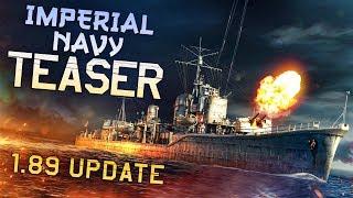 Imperial Navy Teaser / War Thunder 1.89